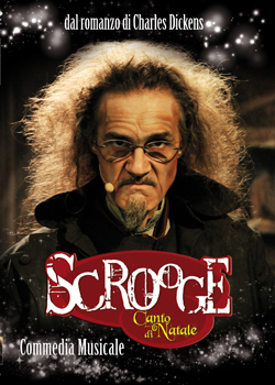 copertina dvd Scrooge Canto di Natale